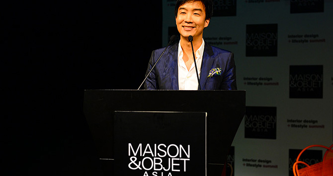 Kenneth Cobonpue, 2014 MASON&OBJET ASIA designer of the year, Crédit photo © Greg Sevaz