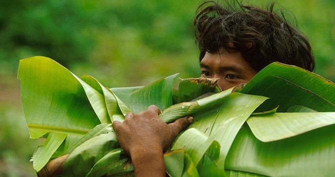 Mlabris, le peuple des feuilles jaunes. Crédit photo : Patrick Aventurier.