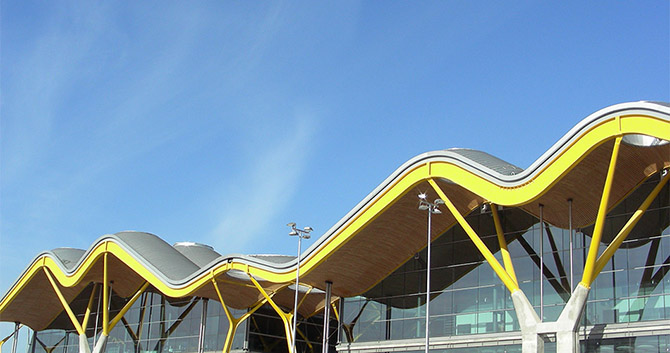 Richard Rogers Barajas, aéroport de Madrid